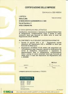 Certificazione di Impresa