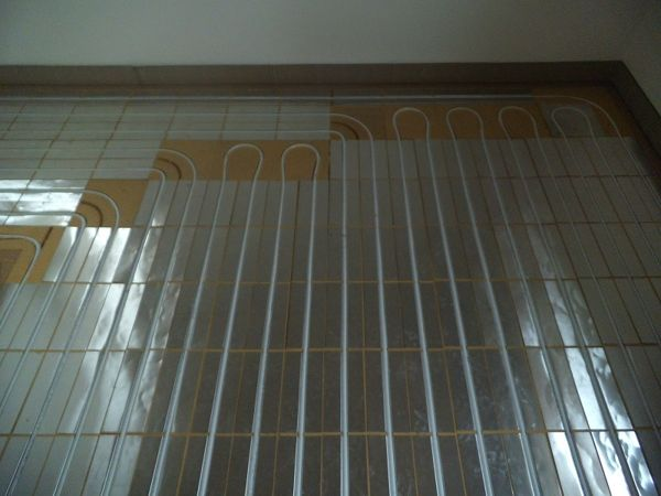 Immagine 5 - impianto radiante a pavimento con sistema a secco