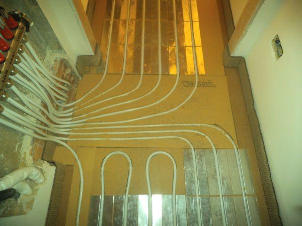Immagine 6 - impianto radiante a pavimento con sistema a secco
